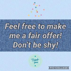 Reach out! Make an offer!